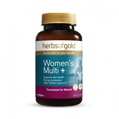 Herbs of Gold VITAMINS Herbs of Gold Women's Multi + 30Tablets