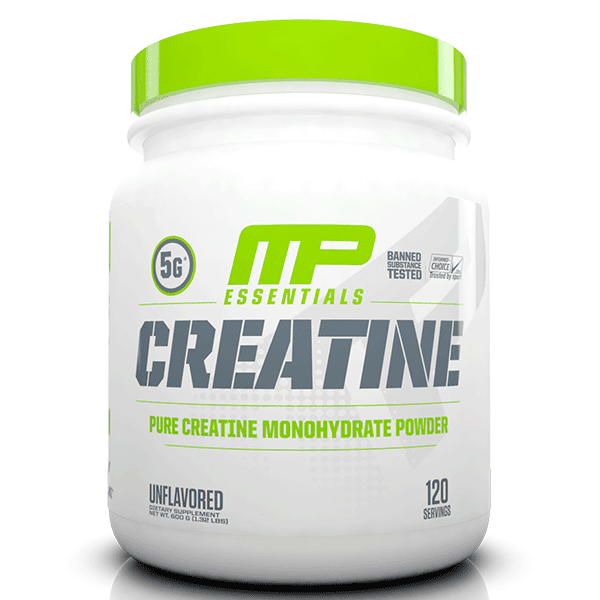 MusclePharm CREATINE Musclepharm Creatine Essentials 120 servings Unflavoured