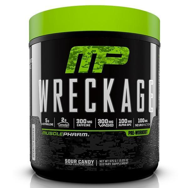 MusclePharm PRE WORKOUT 25Servings / Fruit Punch MusclePharm Wreckage Preworkout