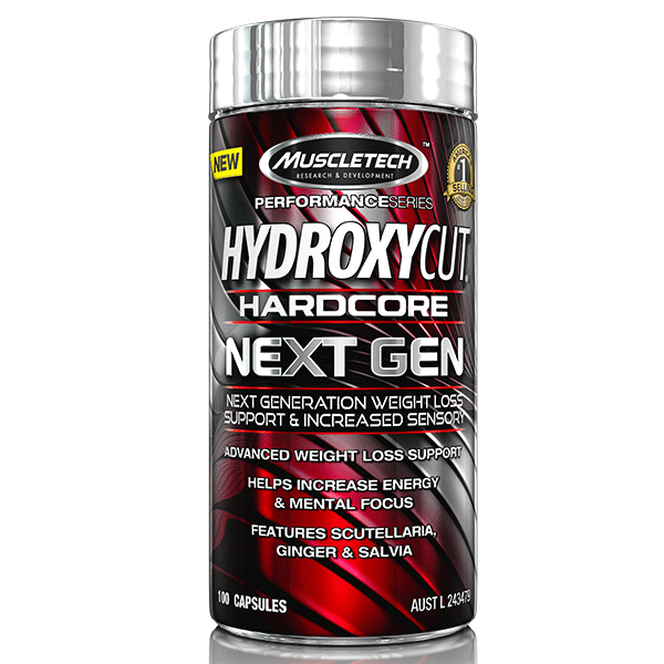 MuscleTech FAT BURNER 100Caps MuscleTech Hydroxycut Hardcore Next Gen