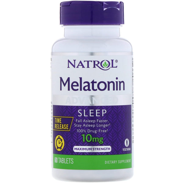 Natrol SLEEP FORMULA Natrol Melatonin Advanced Sleep 10mg Tablets