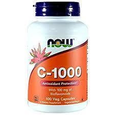 Now Foods C-1000 With 100 Mg Of Bioflavonoids 250 Veg Capsules Vitamins Shnonline.com.au