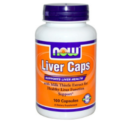 Now Foods VITAMINS Now Foods, Liver Caps, 100 Capsules