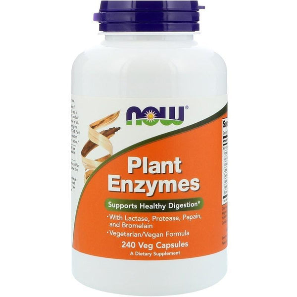 Now Foods VITAMINS Now Foods, Plant Enzymes, 240 Veg Capsules