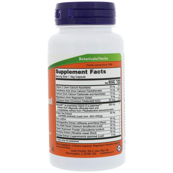 Now Foods VITAMINS Now Foods, Super Cortisol Support, 90 Veg Capsules