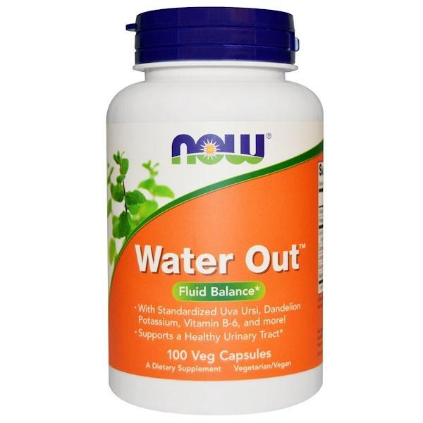 Now Foods VITAMINS Now Foods, Water Out, Fluid Balance, 100 Veggie Caps