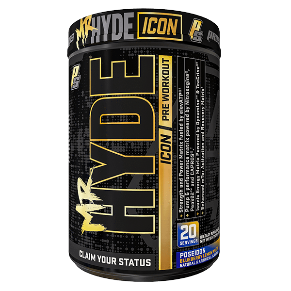 Pro Supps PRE WORKOUT Blueberry Lemon Pro Supps Mr Hyde ICON PreWorkout