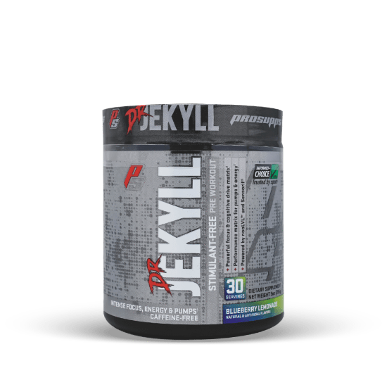 Pro Supps PRE WORKOUT Blueberry Lemonade Pro Supps Dr Jekyll Stim Free