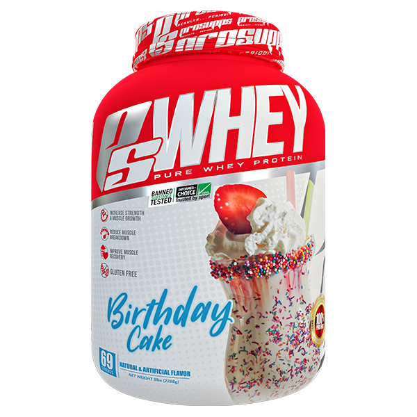 Pro Supps PROTEIN Birthday Cake Pro Supps Whey 5lbs
