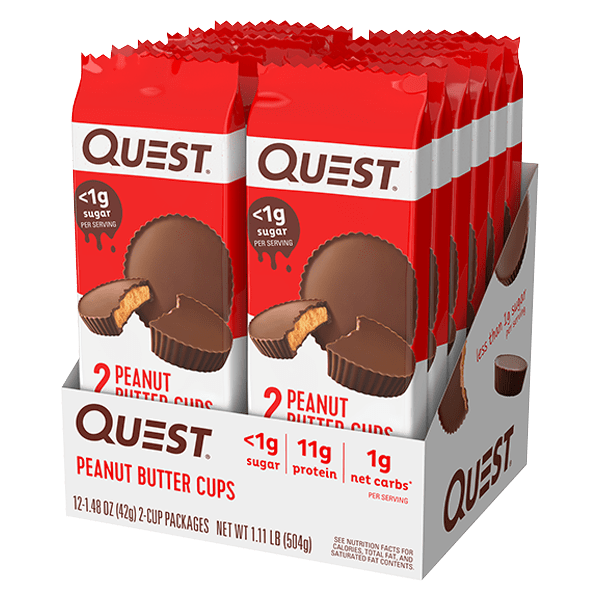 Quest HEALTH FOOD,SNACKS AND BARS Quest Peanut Butter Cups