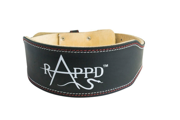 Rappd GLOVES, BELTS AND ACCESSORIES 4inch / Small / Original Rappd Leather Pro Series Weight Lifting Belts