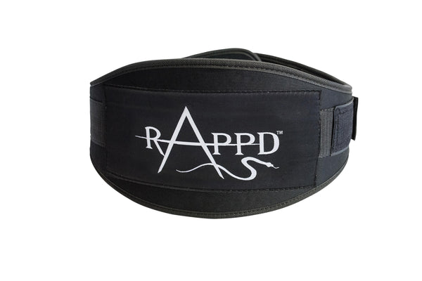 Rappd GLOVES, BELTS AND ACCESSORIES 4inch / Xsmall / Pink Rappd Neoprene Weight Lifting Belts