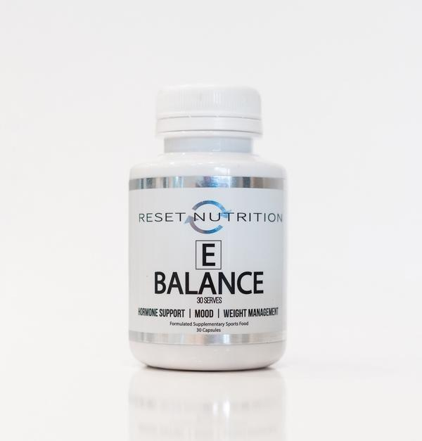 Reset Nutrition TEST BOOSTER Reset Nutrition E Balance