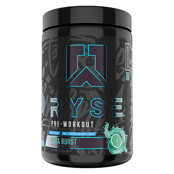 Ryse PRE WORKOUT Ryse Blackout Preworkout