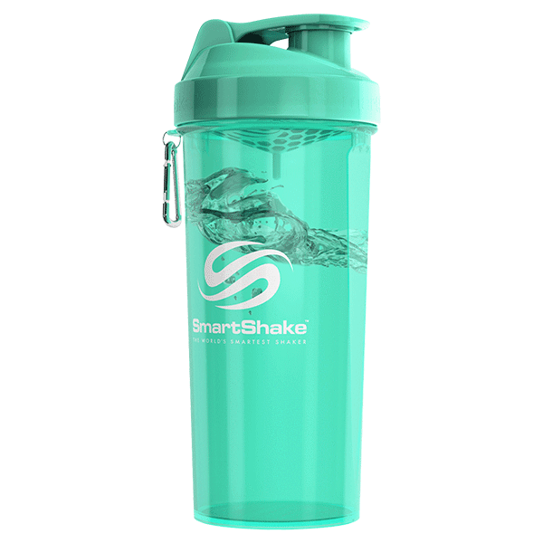 SmartShake SHAKERS 1L / Green Fjallbacka (Turquoise) SmartShake Shaker Lite Special Edition 1 Litre