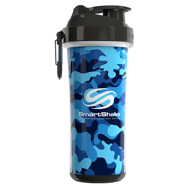 SmartShake SHAKERS 750ML / Camo Blue SmartShake Shaker Double Wall 750ML