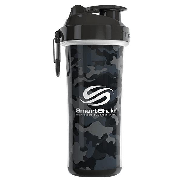 SmartShake SHAKERS 750ML / Camo Grey/Black SmartShake Shaker Double Wall 750ML