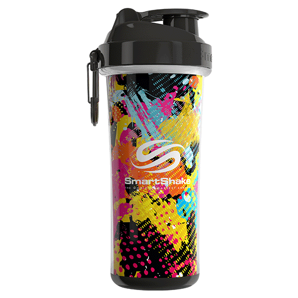 SmartShake SHAKERS 750ML / Jungle (Graffiti) SmartShake Shaker Double Wall 750ML