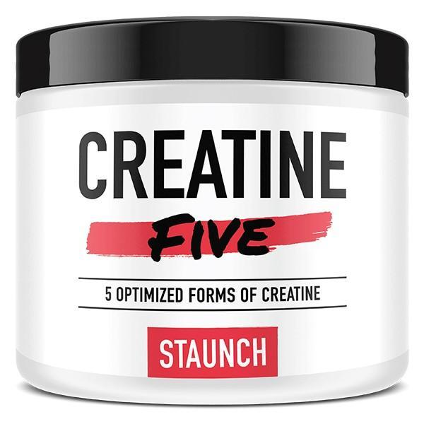 Staunch CREATINE Unflavoured Staunch Creatine Five 50 Serve