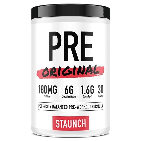 Staunch PRE WORKOUT 30Servings / Blue Raspberry Staunch Pre- workout Original