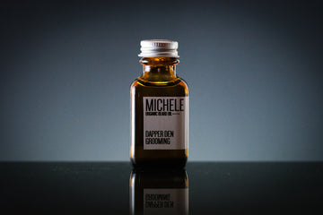MICHELE ORGANIC BEARD OIL (ORANGE / MINT)