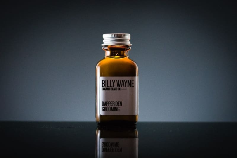Billy Wayne Organic Beard Oil (Peppermint / Clove) - Organic Beard Oil