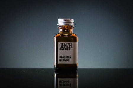 Genzel Organic Beard Oil (Rosemary / Sage) - Organic Beard Oil