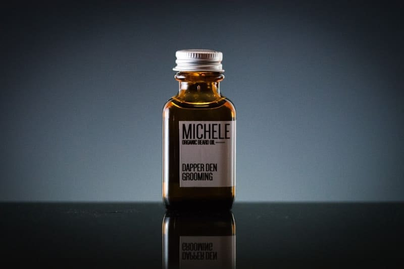 Michele Organic Beard Oil (Orange / Mint) - Organic Beard Oil