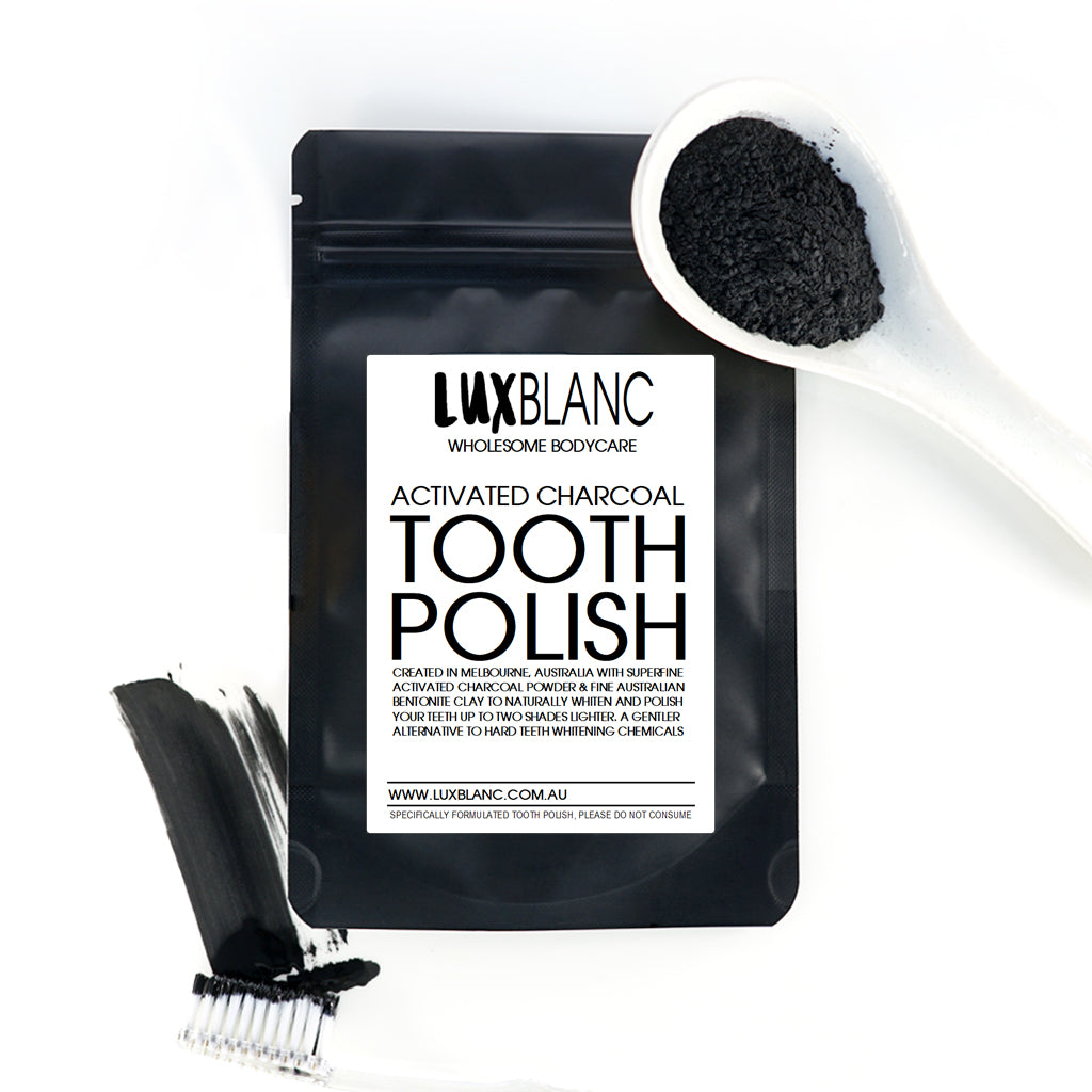 Activated Charcoal & Clay Tooth Polish Powder