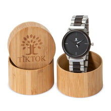Wooden Watch - Metal Strap | Flex