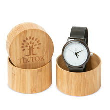 Wooden Watch - Metal Strap | Ox