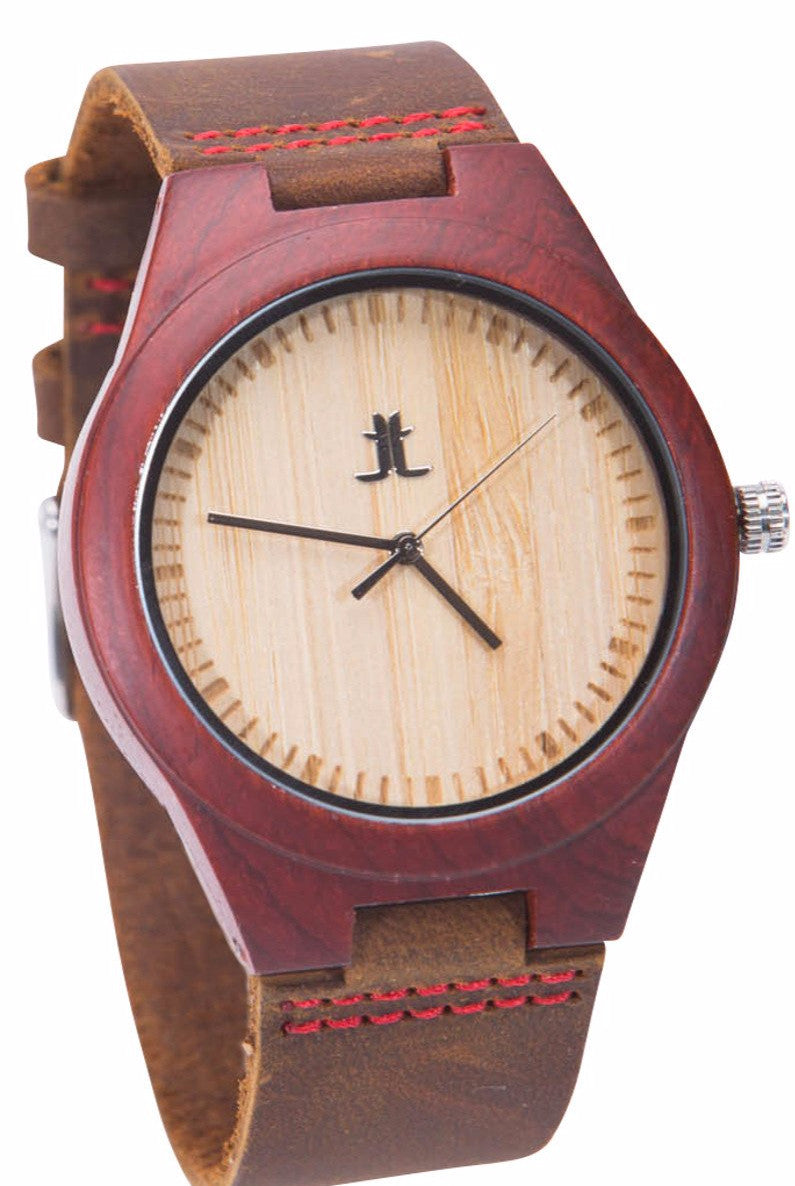 Wooden Watch I Logan