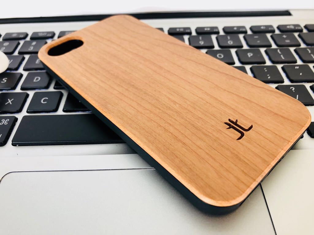 iPhone Case I Light Zebra Wood