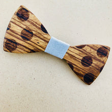 Wooden Bow Tie | Dotty