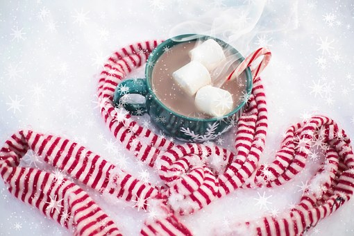 Protein Packed Peppermint Hot Chocolate