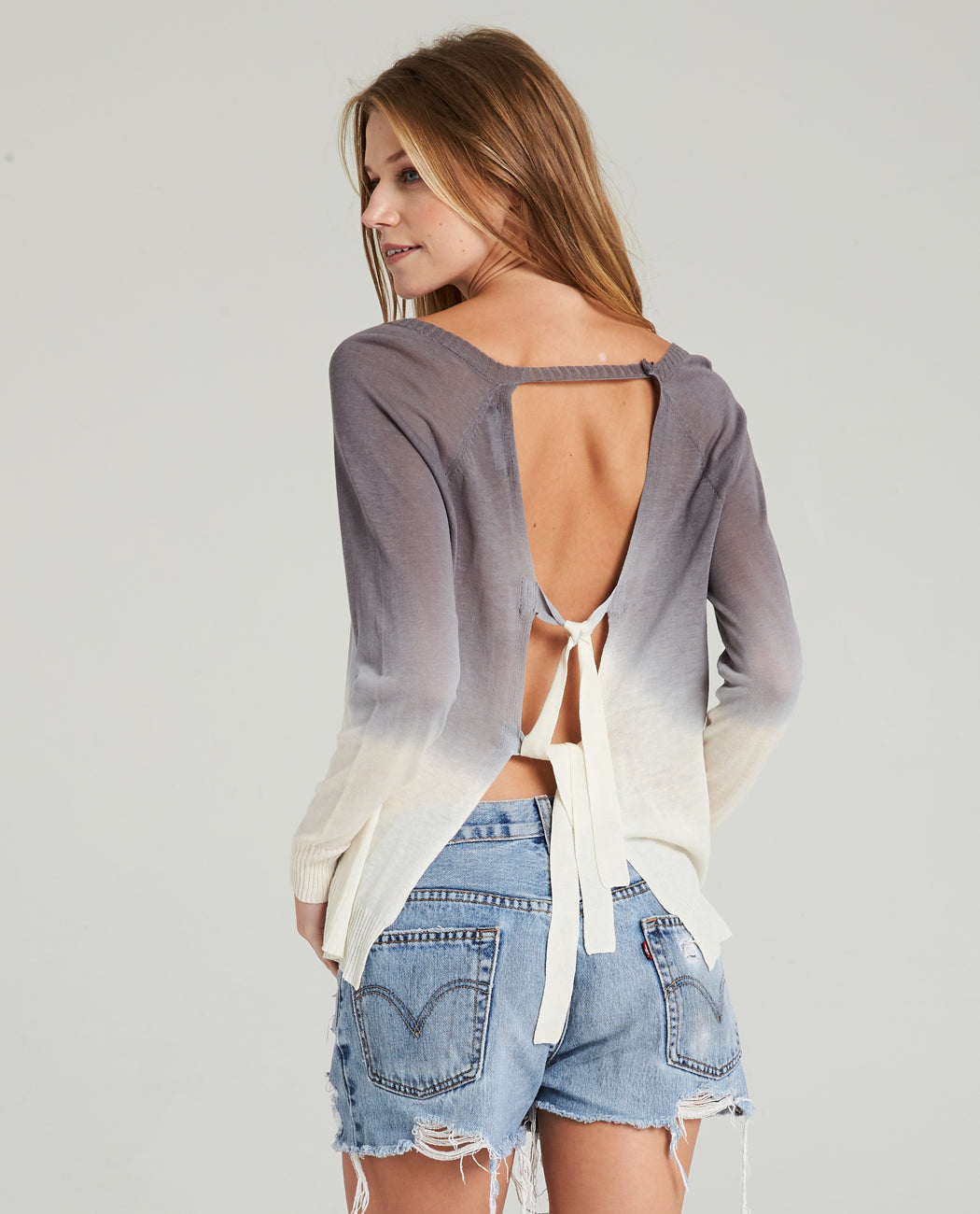 HAZE TIE BACK SWEATER