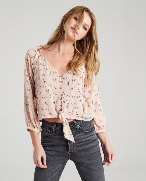 Stella Easy Knotted Blouse