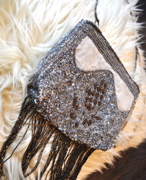 Diamante Beaded Bag