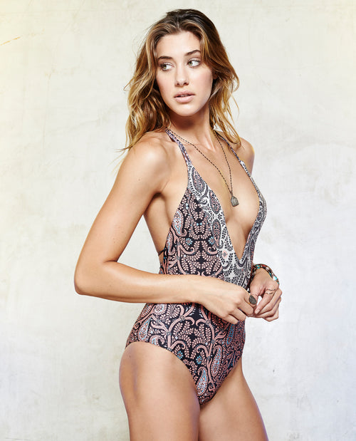 RAMOUE MIX PRINT ONE PIECE