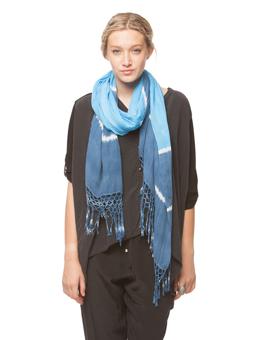 Heather Tie Dye Scarf