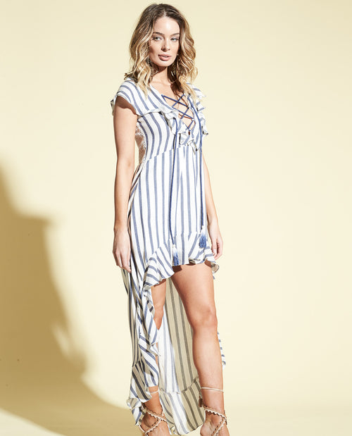 SAILOR LACE UP MAXI