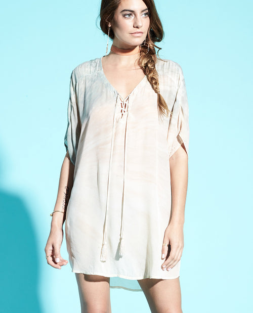 MILAN LACE UP TUNIC