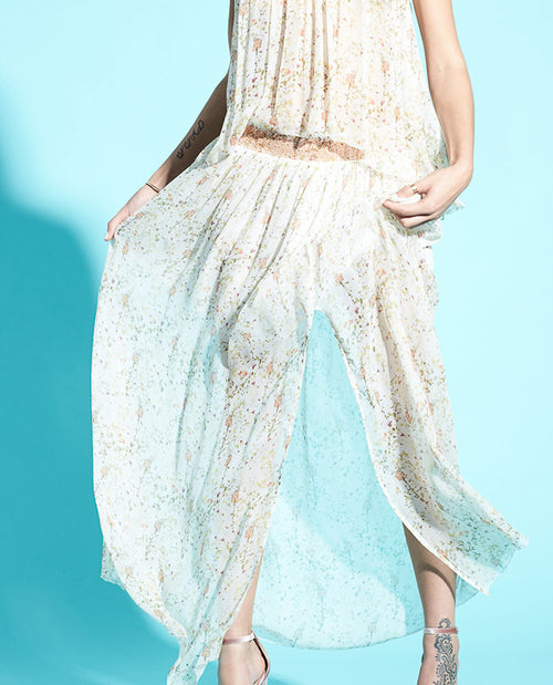 FINN PLEATED MAXI SKIRT