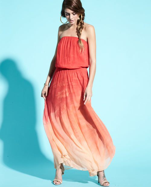 IDA STRAPLESS MAXI DRESS