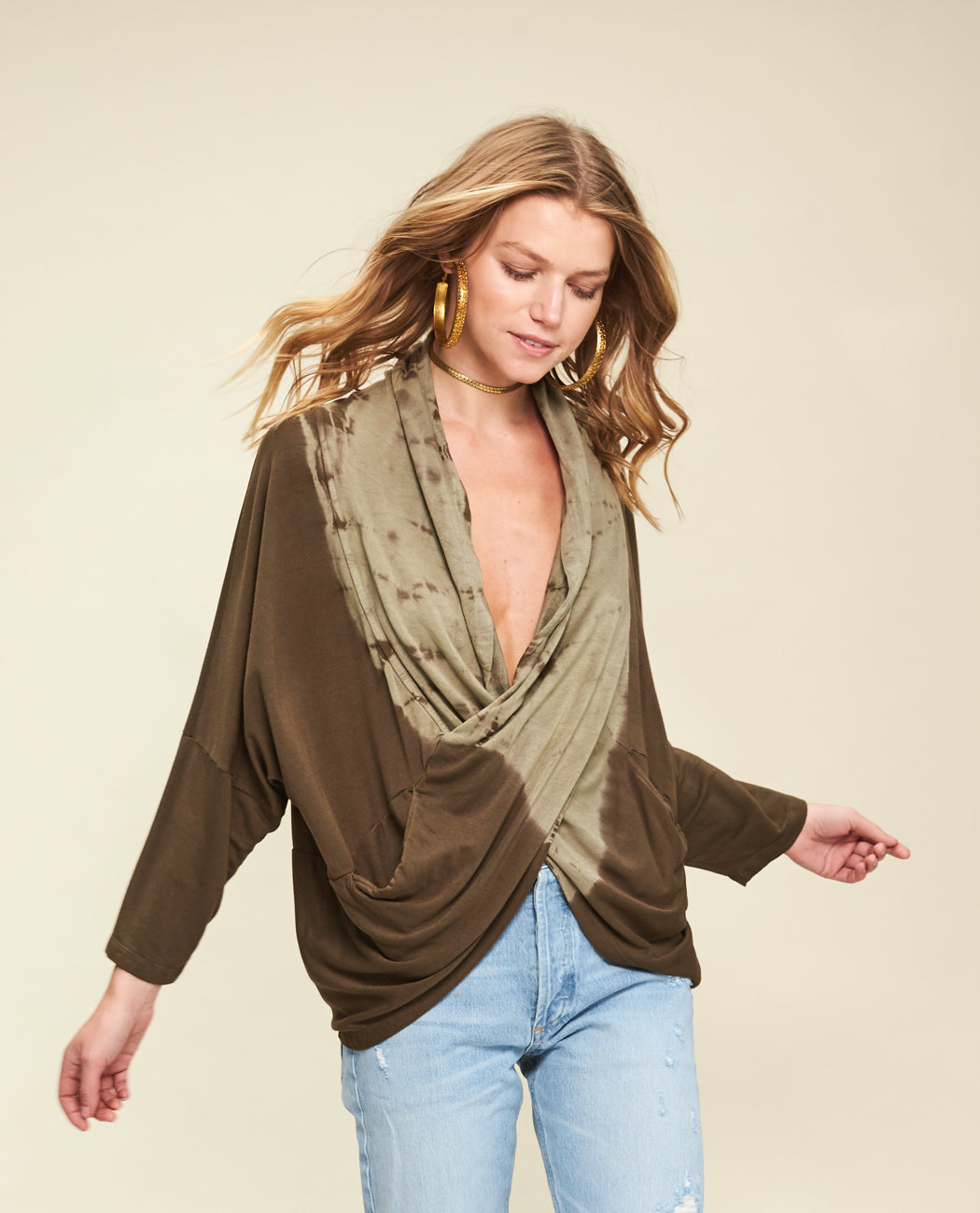 Ladies lightweight poncho part of our casual wear for women range