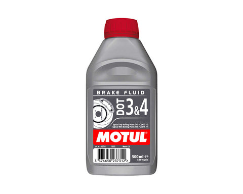 Motul Dot 3 & 4 Brake Fluid - 500ml
