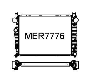 MER7776-PA36A (S-CLASS w/ OVAL DUCT HOLES)