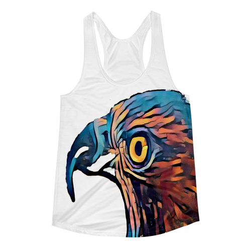 Got my Eye on you -Women's Racerback Tank
