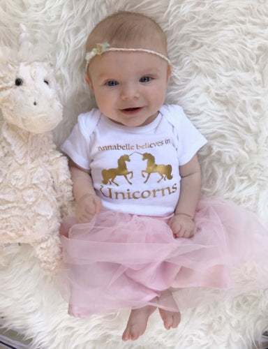 Baby believes in Unicorns