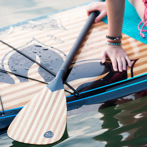 LP-03 Carbon & Bamboo Lotus Paddle